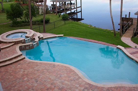 Daytona beach pools in ground pool builders orlando for Inground swimming pool companies