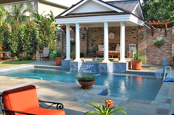 custom pool design Custom Pool Builders