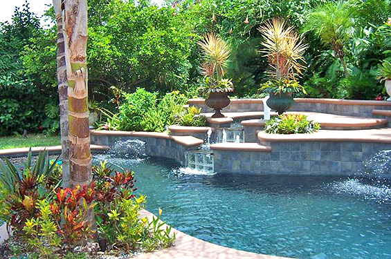 Deltona pool and spa builders artesian pools florida pools for Pool design florida