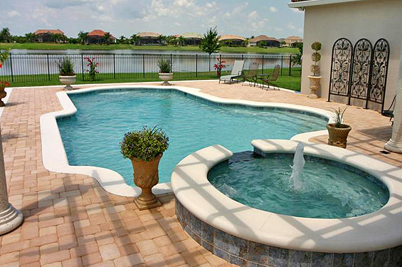 Artesian pools holly hill custom pool and spa builders for Custom pool and spa