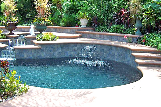 Deltona pool and spa builders artesian pools florida pools for Pool design orlando florida
