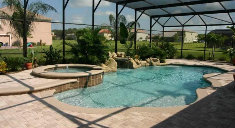 Custom Pool Spa Builders | Backyard Water Parks | Orlando
