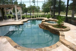 Orlando inground pool and spa builders living the life for Pool and spa show wa