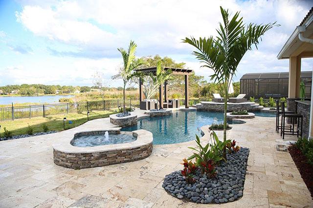 Daytona Beach Orlando Custom Inground Swimming Pool