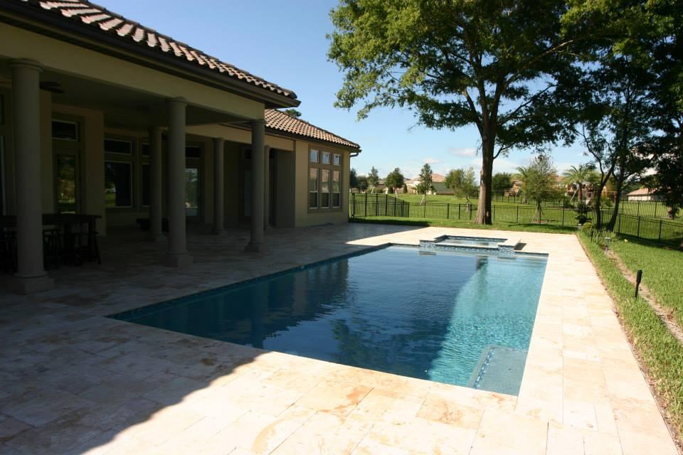 Daytona Beach custom designed swimming pool