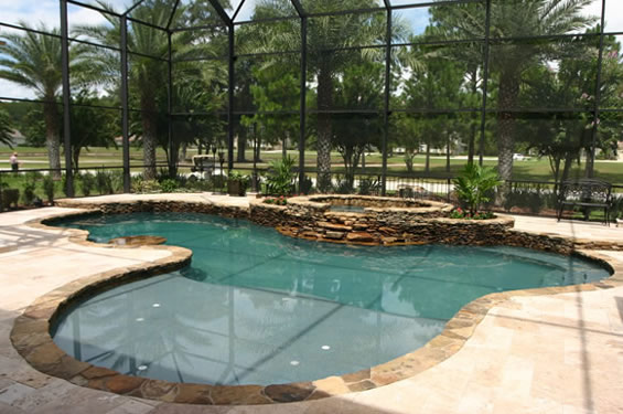 Orlando daytona beach in ground swimming pool builders for In ground swimming pool contractors