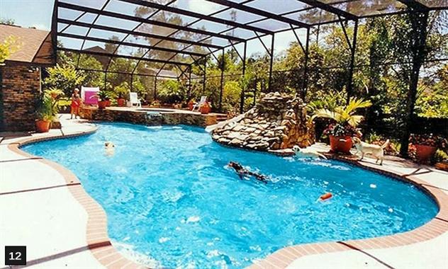 Orlando Daytona Beach In Ground Swimming Pool Builders Pool Spa Design