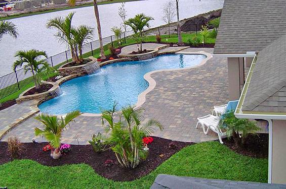Daytona Beach Florida Inground Pool And Spa Builders